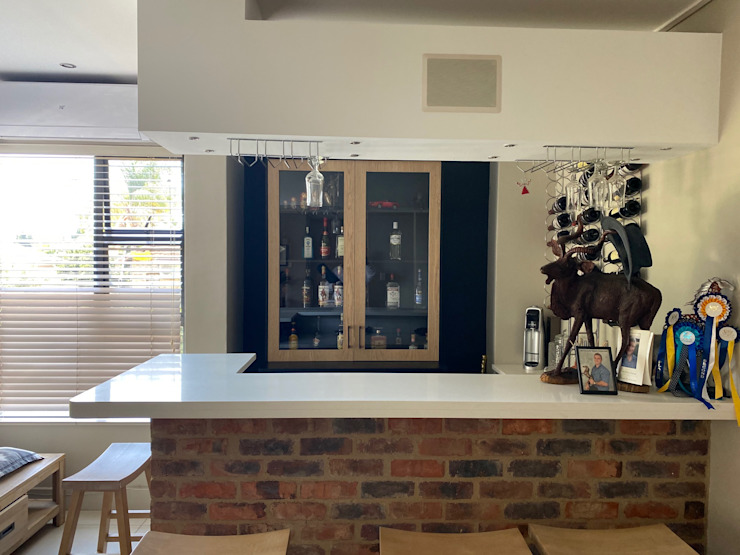 Bespoke new Gin cupboard CS DESIGN Kitchen