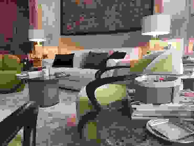 Limac Design Ruang Keluarga Modern Grey