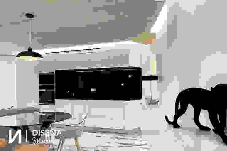 Cocina DISENA studio Cocinas de estilo minimalista