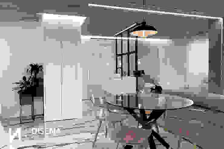 Salón DISENA studio Comedores de estilo minimalista