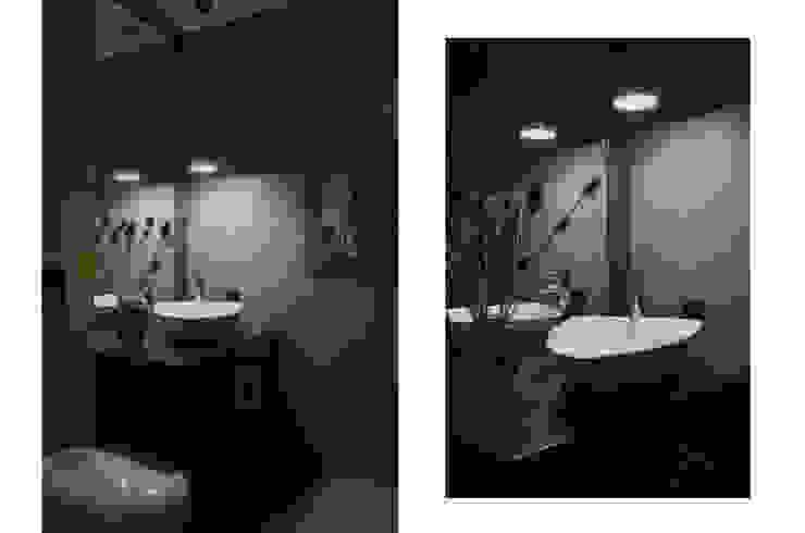 JENO Pracownia Projektowania Naturalnego Eclectic style bathroom