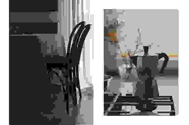 JENO Pracownia Projektowania Naturalnego Eclectic style dining room
