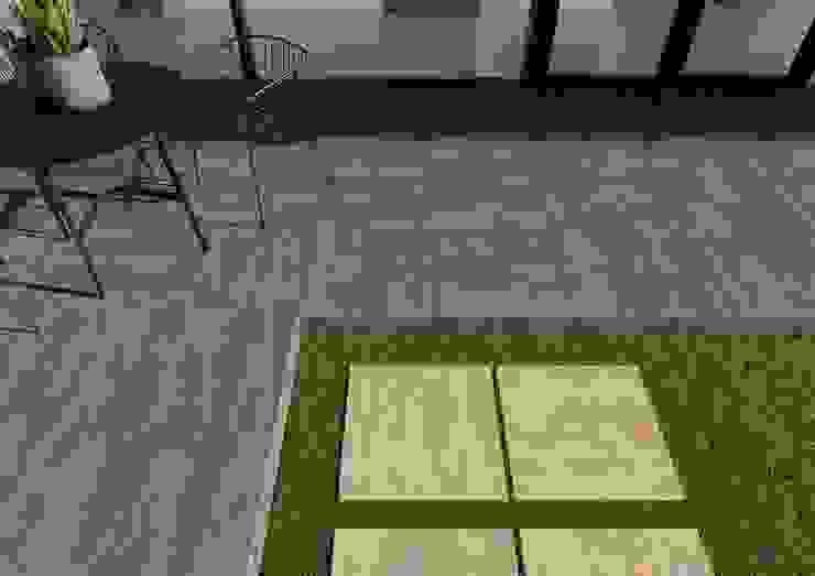 Domni.pl - Portal & Sklep Modern Terrace Ceramic Brown
