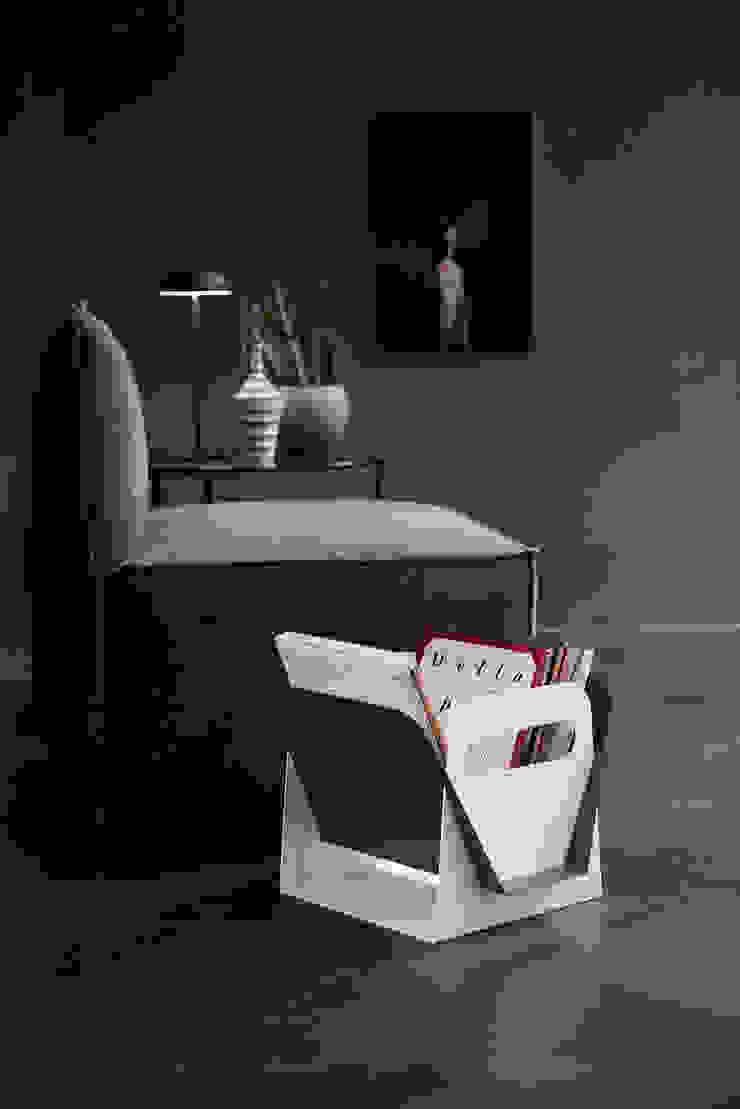 Limac Design Living roomStorage Aluminium/Seng White