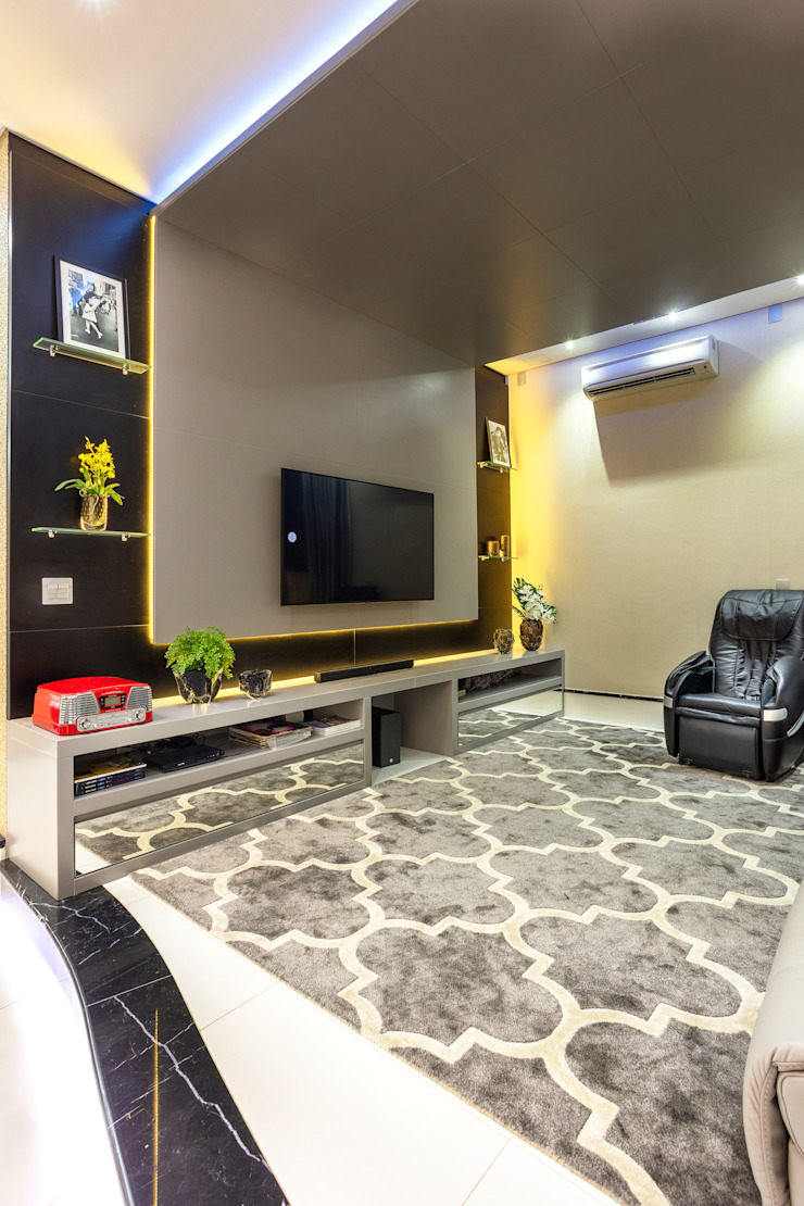 Designer de Interiores e Paisagista Iara Kílaris Ruang Media Modern