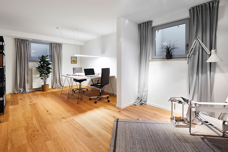 Home Staging Bavaria Study/officeLighting Aluminium/Zinc White