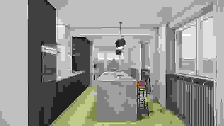 offene Küche Innenarchitektur Federleicht Skandinavische Küchen