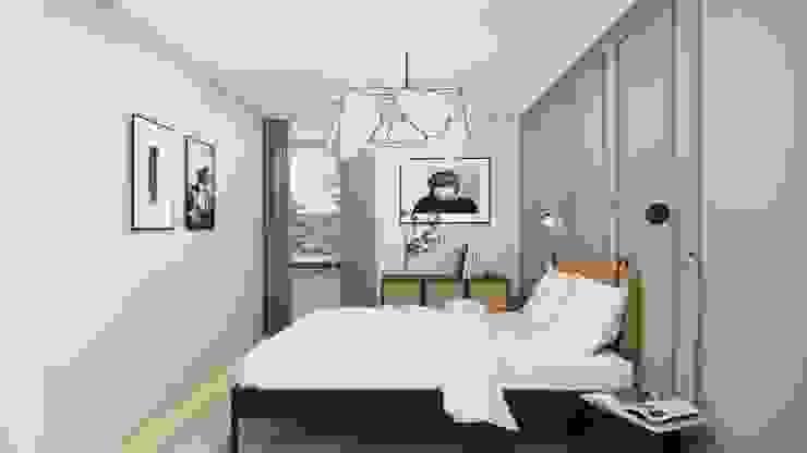 kleines Schlafzimmer Innenarchitektur Federleicht Skandinavische Schlafzimmer