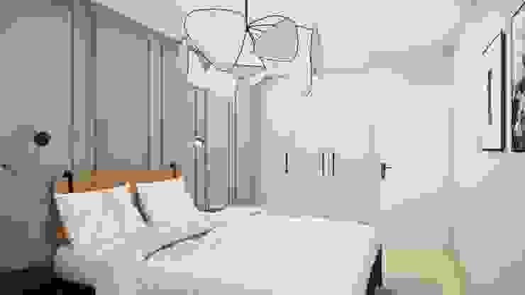 praktische Einbauschränke Innenarchitektur Federleicht Skandinavische Schlafzimmer