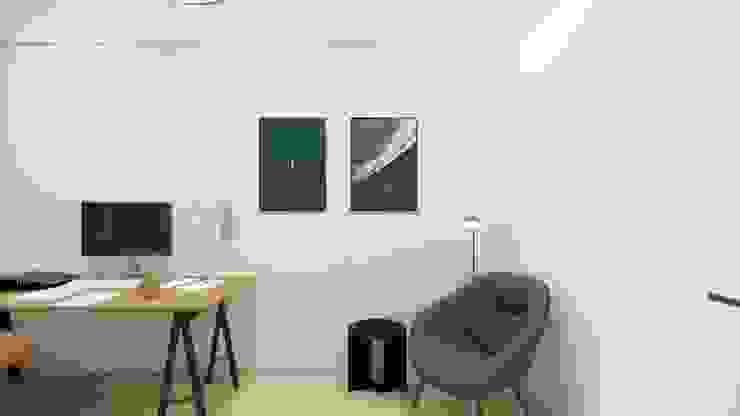 Wandgestaltung im Arbeitszimmer Innenarchitektur Federleicht Skandinavische Schlafzimmer