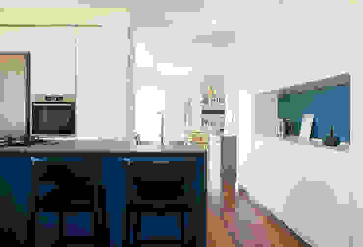 zero6studio - Studio Associato di Architettura Cuisine intégrée Bleu