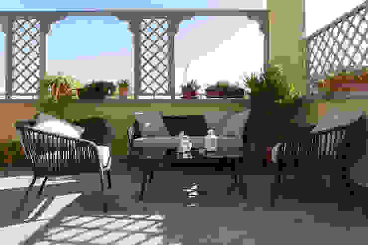 zero6studio - Studio Associato di Architettura Balcon, Veranda & Terrasse modernes