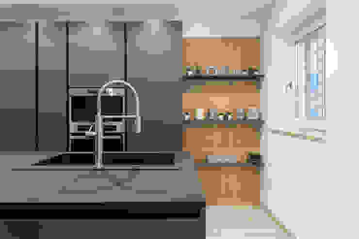 zero6studio - Studio Associato di Architettura Cuisine intégrée Noir