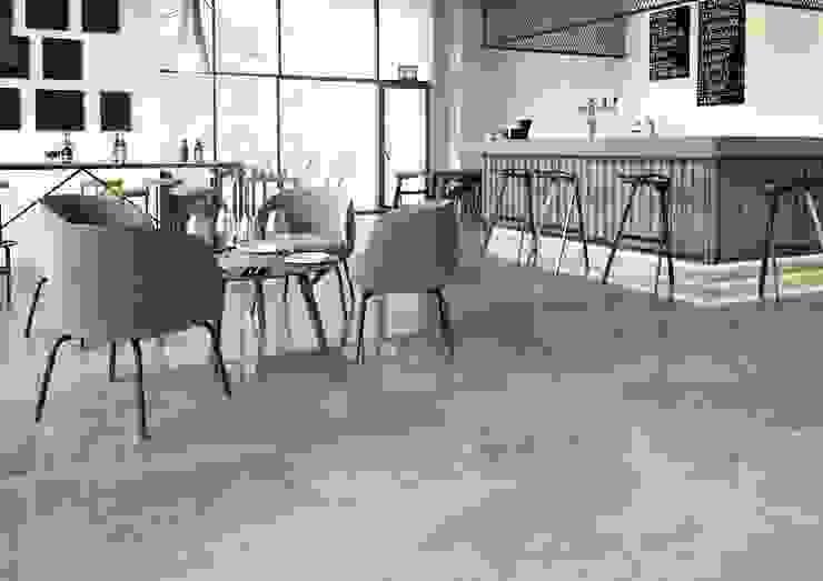 Domni.pl - Portal & Sklep Industrial style dining room Ceramic Grey