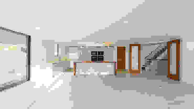 Oseleta, Luscombe, Luscombe Valley, Poole, Dorset David James Architects & Partners Ltd Cuisine moderne