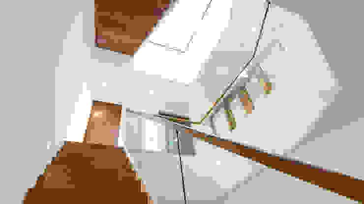 Oseleta, Luscombe, Luscombe Valley, Poole, Dorset David James Architects & Partners Ltd Escalier
