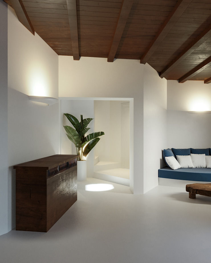 Architetto Alessandro spano Вітальня