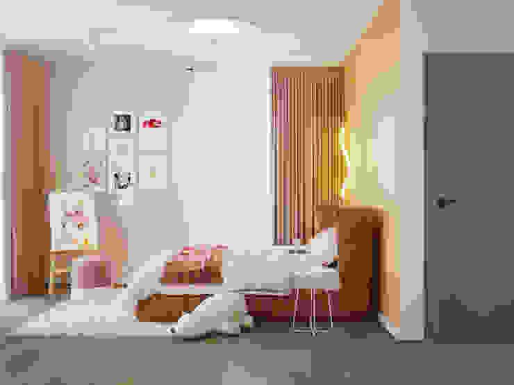 Студия дизайна ROMANIUK DESIGN Scandinavian style nursery/kids room