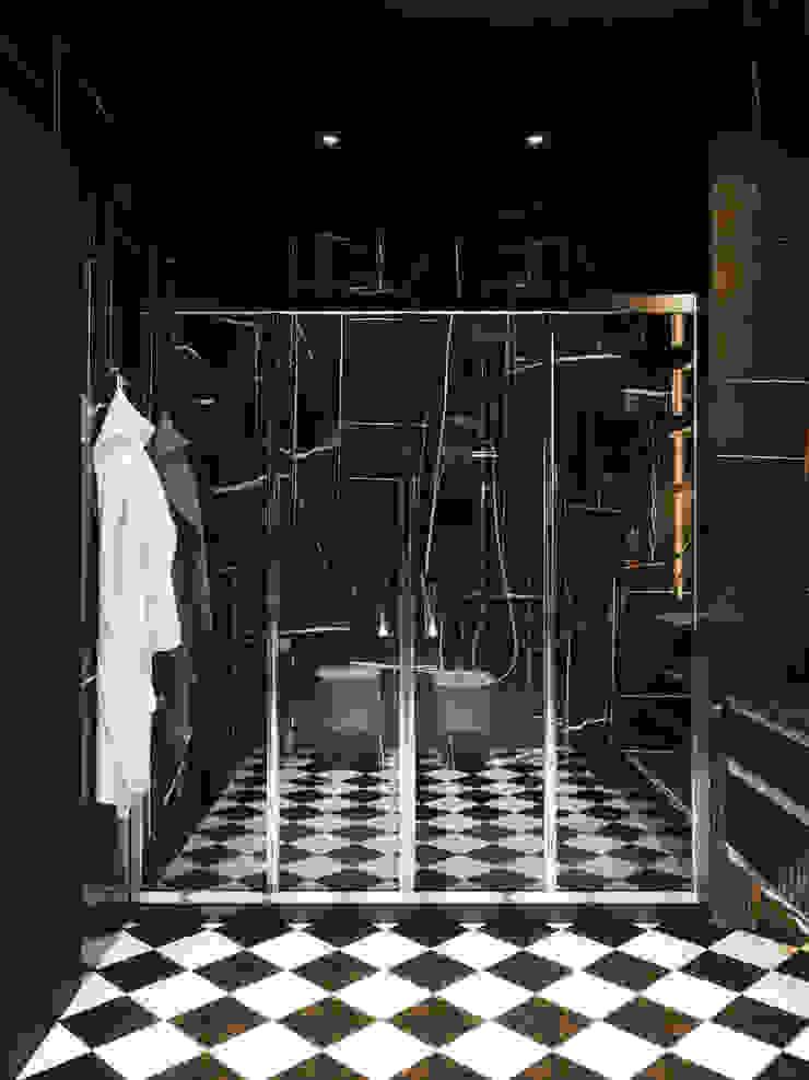 Душевая Студия дизайна ROMANIUK DESIGN Ванная в классическом стиле
