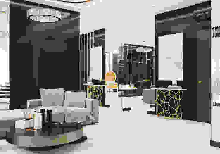 Гостиная Студия дизайна ROMANIUK DESIGN Гостиная в классическом стиле