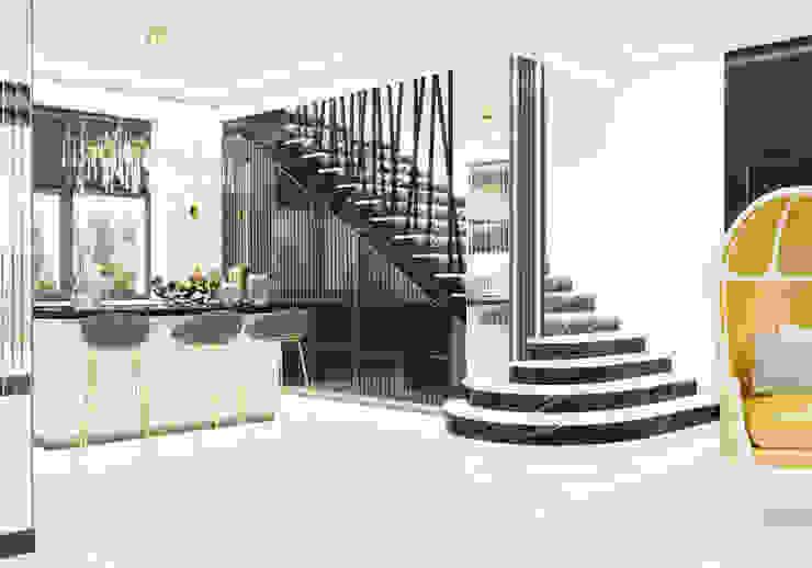 Кухня Студия дизайна ROMANIUK DESIGN Гостиная в классическом стиле