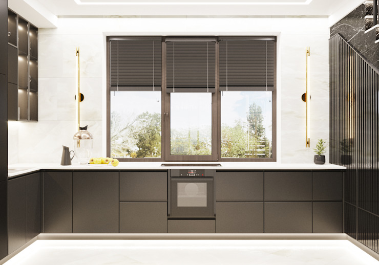 Кухня Студия дизайна ROMANIUK DESIGN Кухня в классическом стиле