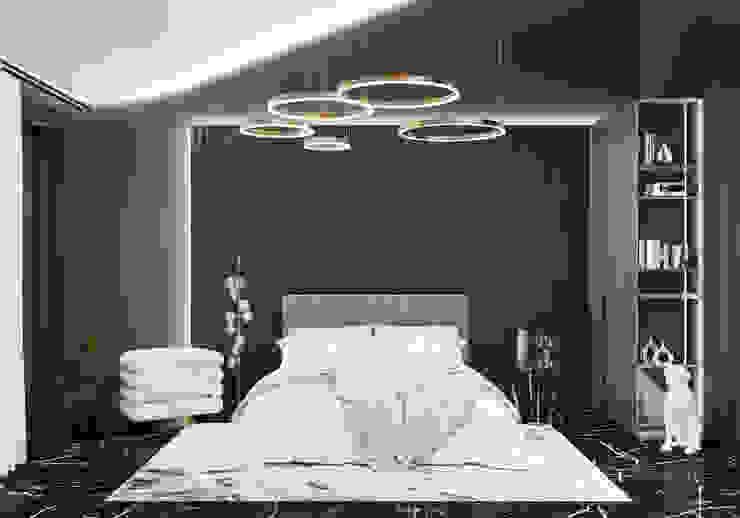 Спальня Студия дизайна ROMANIUK DESIGN Спальня в классическом стиле
