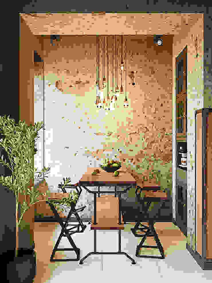 Студия дизайна ROMANIUK DESIGN Industrial style kitchen