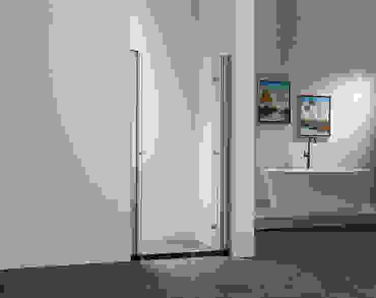 Pendeltür 6mm ESG Duschdiscount.de BadezimmerWannen und Duschen Glas