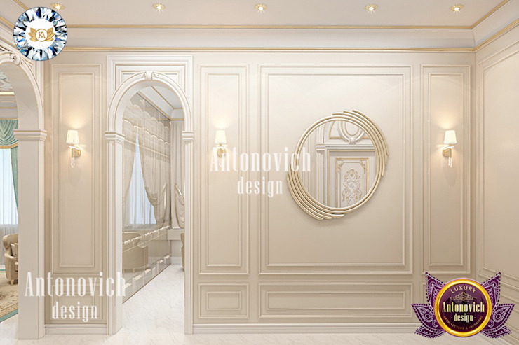 WORLD-CLASS JOINERY SERVICES BY LUXURY ANTONOVICH DESIGN Luxury Antonovich Design Modern style bedroom