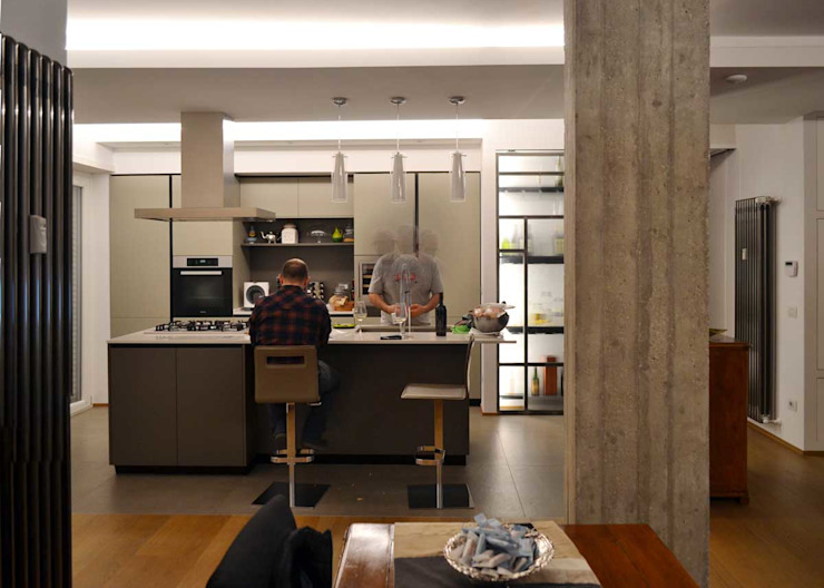 arch. Paolo Pambianchi Built-in kitchens