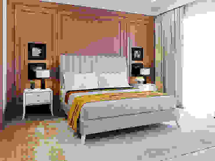 GEORGE bed ITALIANELEMENTS BedroomBeds & headboards Textile