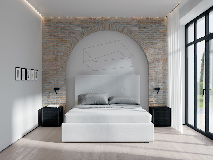 BUTTON BED ITALIANELEMENTS BedroomBeds & headboards