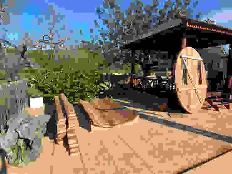 CASÁRBOL Scandinavian style spa Solid Wood