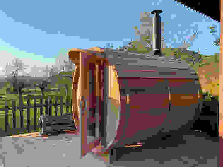 CASÁRBOL Sauna Solid Wood Wood effect