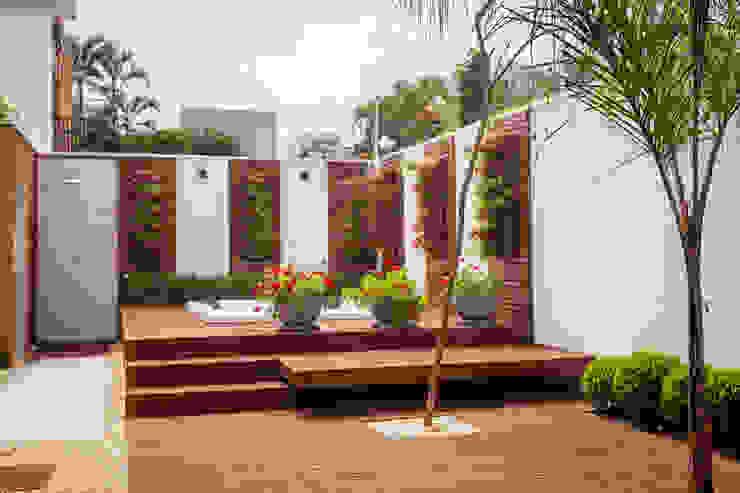 Jardim residencial e horta Verde Conecta Lagos e Lagoas de jardins