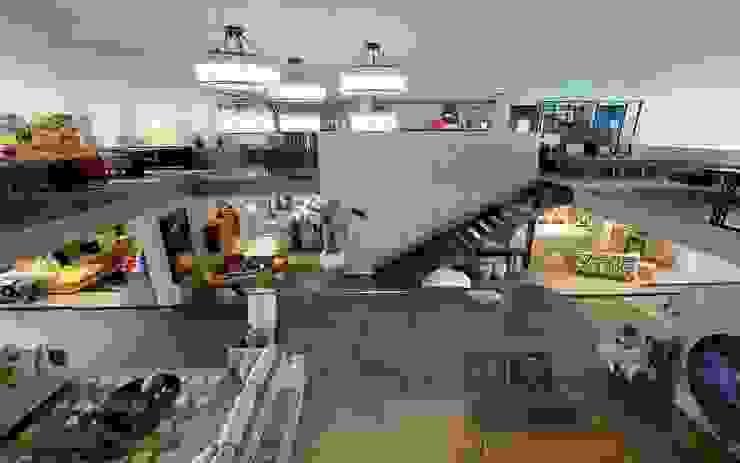 Remodelação da Loja de Mobiliário – Laskasas Esboçosigma, Lda Espaços comerciais modernos