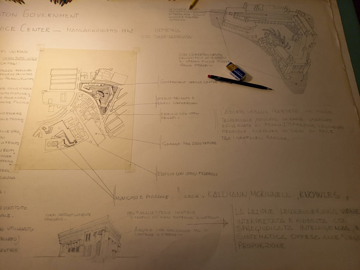 """Manifest der """"emotionalen Architektur"""" architetto Manfredi"""