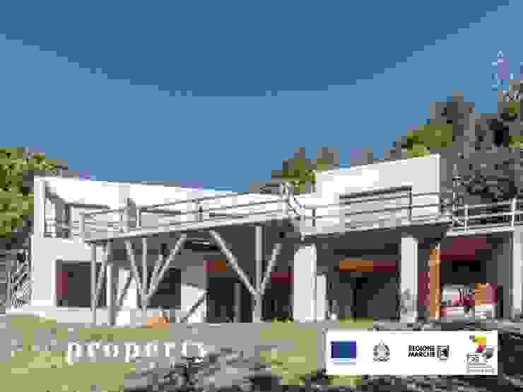 Vista ESTERNA della proprietà in costruzione, VENDUTA PROPERTY TALES Villa