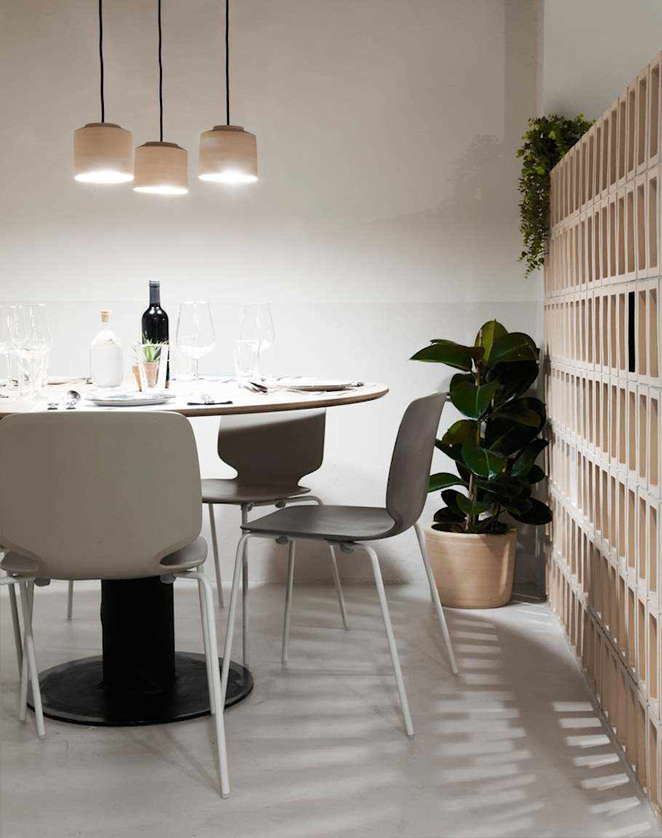 Topciment press profile homify Modern dining room