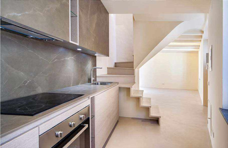 Topciment press profile homify Stairs