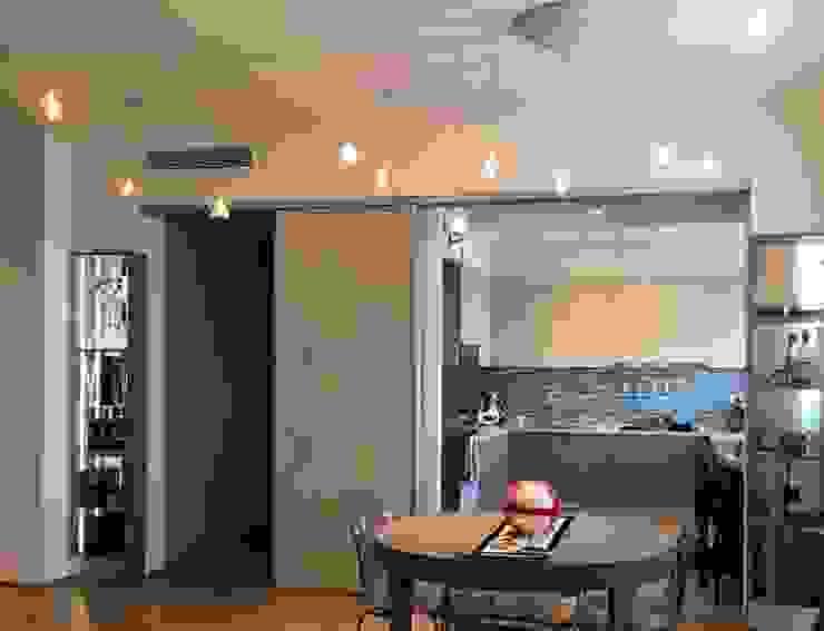 SOGGIORNO/ cucina Arch+ Studio Soggiorno eclettico