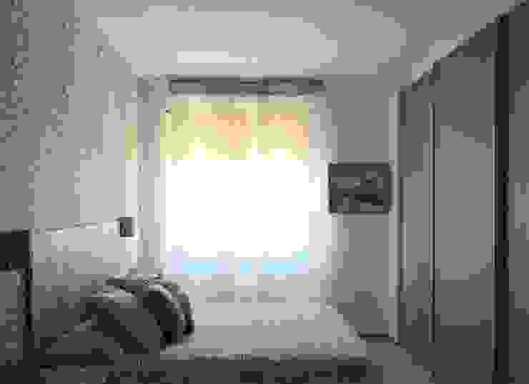 CAMERA DA LETTO/ letto Arch+ Studio Camera da letto eclettica