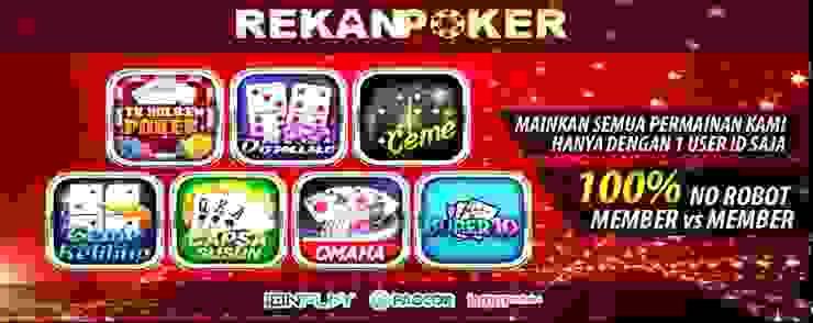 situs judi online poker online domino bandarq REKANPOKER