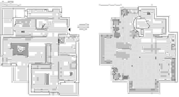 Planimetrie di progetto Arch+ Studio