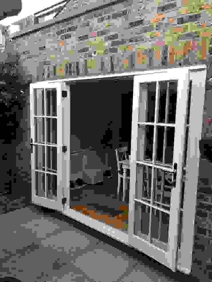 French doors Repair A Sash Ltd Puertas de madera Derivados de madera Blanco
