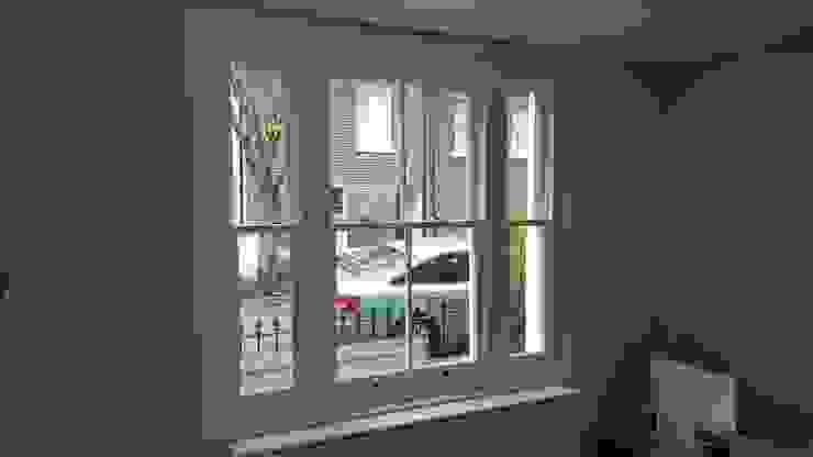 Venetian sash window Repair A Sash Ltd Ventanas de madera Derivados de madera Blanco