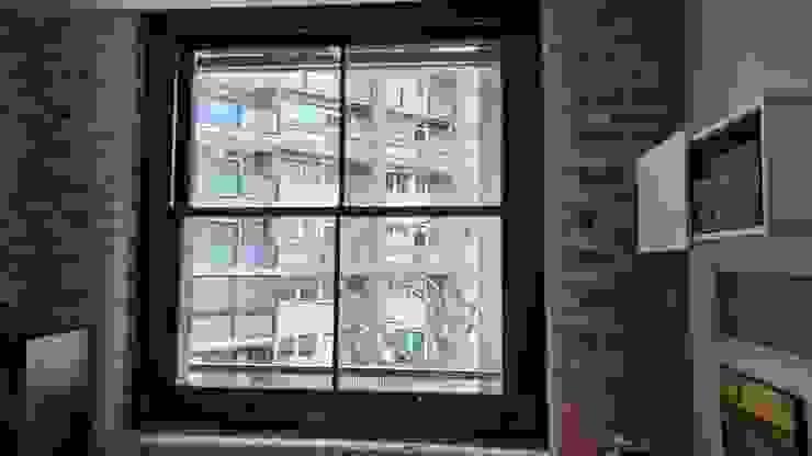 Sash window with vacuum glass Repair A Sash Ltd Ventanas de madera Derivados de madera Gris