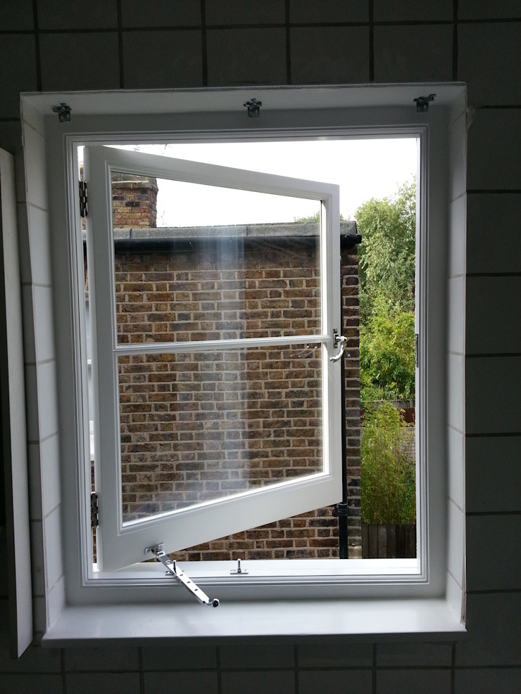 Casement window Repair A Sash Ltd Ventanas de madera Derivados de madera Blanco