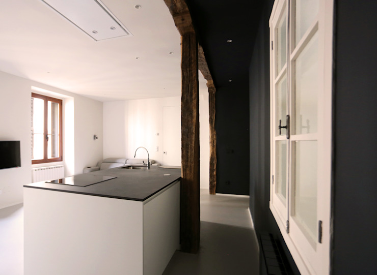 Bitarte arquitectura & interiorismo Cozinhas embutidas